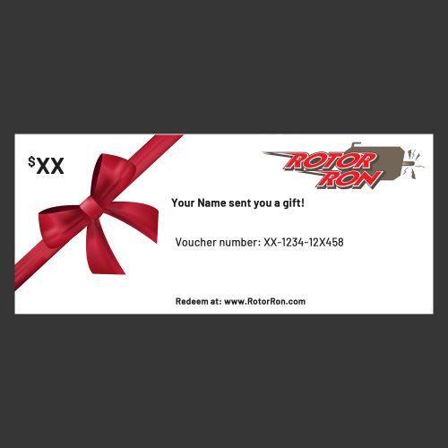 Rotor Ron Gift Card
